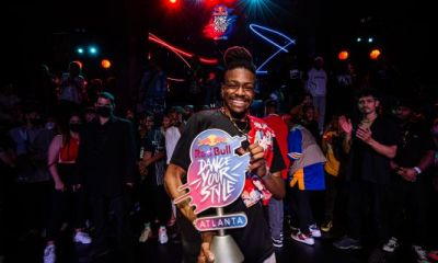 #RedBullDanceYourStyle Atlanta: Uncontested Crowd Fave Prince Wayne Dishes On His Trophy-Taking Street Dancing [Exclusive]