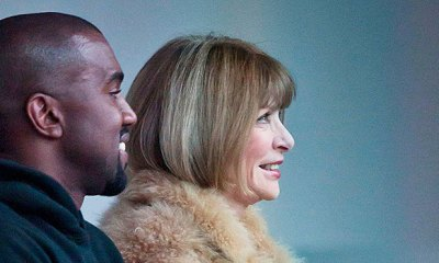 Kanye West Has Outdoor Lunch With Anna Wintour In NYC After Meeting With Michael Cohen