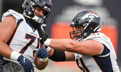 """Broncos guard Graham Glasgow details experience with Atrial fibrillation: """"I felt like I had to move my pads away from my chest"""""""