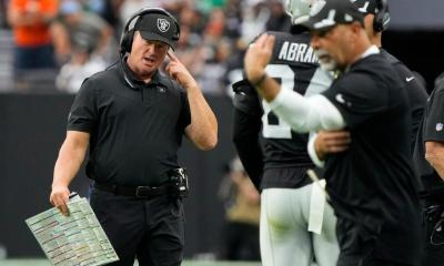 Jon Gruden resigns as Raiders coach over offensive emails