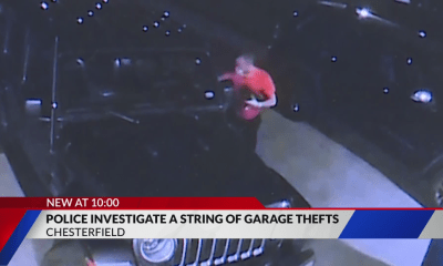 Chesterfield Police investigate string of garage thefts