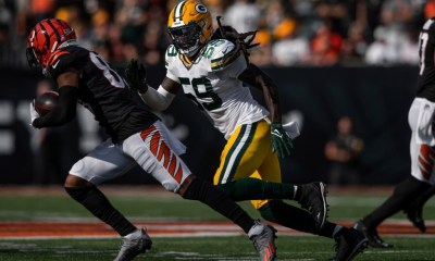 Gophers in the NFL: Aaron Rodgers praises new Packer De'Vondre Campbell