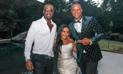Sweet Love: Q Parker Serenades Couple Celebrating 15 Years Of Matrimony-dom With Lavish Eagles Landing Vow Renewal