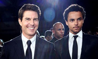 tom cruise with son connor
