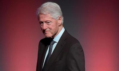 Former President Bill Clinton hospitalized for infection but 'on the mend'