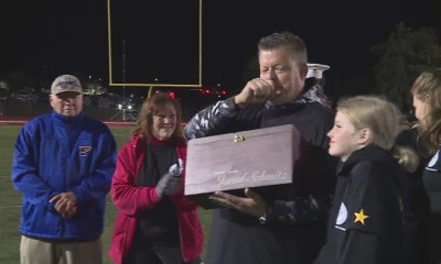 Fort Zumwalt South honors fallen Marine with $32,000 for memorial fund