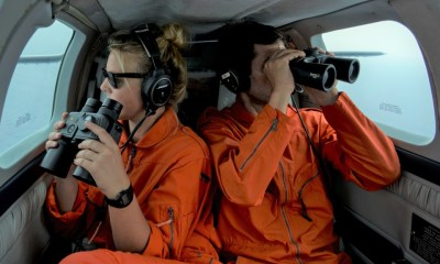 Volunteers in the sky watch over migrant rescues by sea