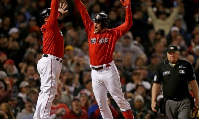 Why Christian Arroyo pointed to Bobby Dalbec after hitting home run in Red Sox' Game 3 victory