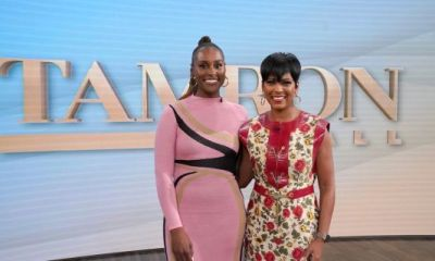 """Tamron Hall Talks To Issa Rae About Her """"French Photoshoot"""" But Says Wedding """"Wasn't A Secret"""""""