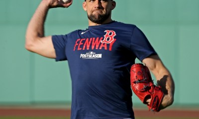 Nathan Eovaldi set to start ALCS Game 6 for Red Sox after relief appearance in Game 4