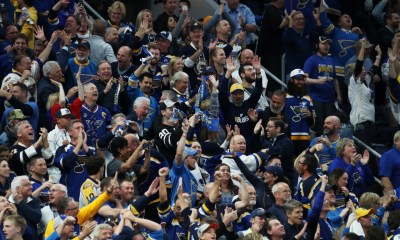 Blues fans must be aware of COVID protocol before going to home opener