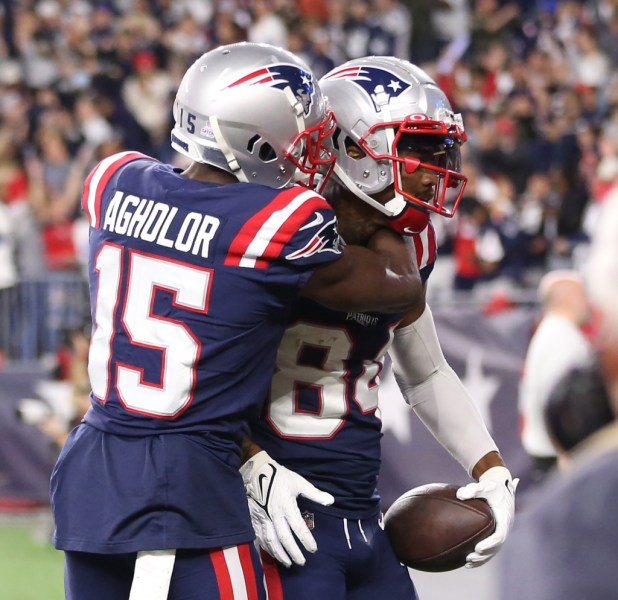 Patriots WR Nelson Agholor laments drop on key play in Cowboys loss