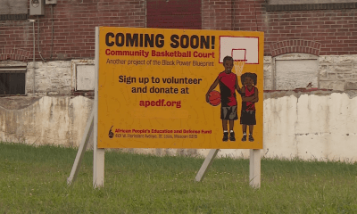'The community deserves a basketball court'; Organization plans to bring fresh paint to North St. Louis City