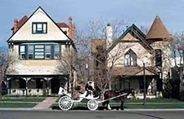 The Queen Anne Bed & Breakfast in the 1980s