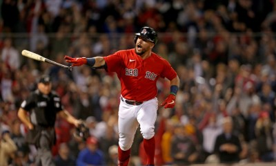 Kyle Schwarber became a perfect fit in Boston, and he's hopeful to stay with Red Sox: 'This is a World Series clubhouse'