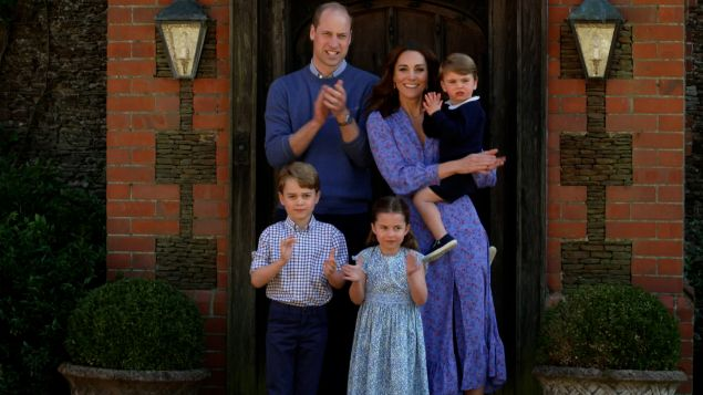 1635080635 385 Prince William and Kate Are Taking a Family Staycation With