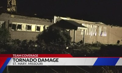 St. Mary's antique mall suffered heavy damage in Sunday's tornado