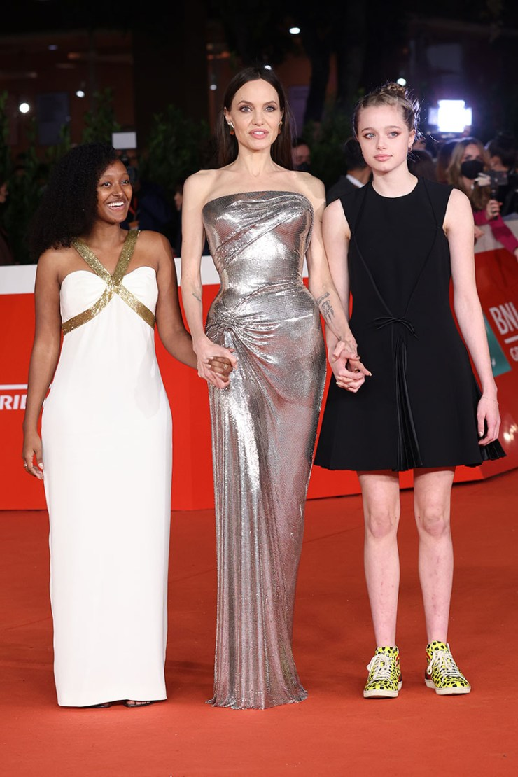 1635192052 633 Angelina Jolie Dazzles On Red Carpet with Daughters Zahara and