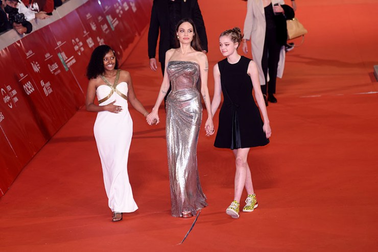 1635192052 83 Angelina Jolie Dazzles On Red Carpet with Daughters Zahara and