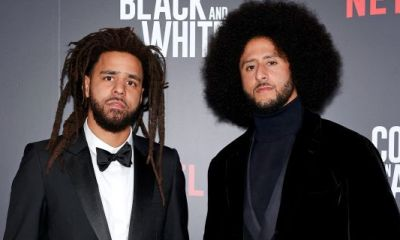 """J. Cole, Anna Wintour, Ava DuVernay, Colin Kaepernick & More Attend Swanky """"Colin In Black And White"""" Screening In NYC"""