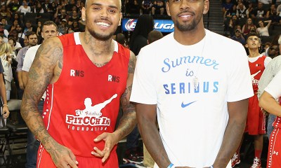 Chris Brown Calls Kyrie Irving a 'Real Hero' Over Anti-Vaccination Stance