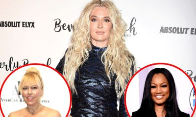 """Erika Jayne Responds to Fan Holding """"Did Erika Jayne Know?"""" Sign at WWE Event, Suggests RHOBH Would Be Boring if Garcelle and Sutton Were Main Storylines"""