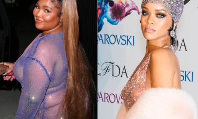 Lizzo Proudly Posts Her 'Controversial' Couture From Cardi B's Bashment Party, Sparks Similarly Sparkly Rihanna Debate