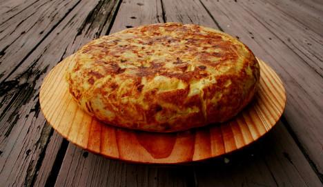 Recipes for patata tortilla