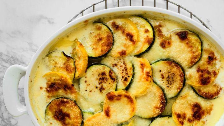 Recipes for zucchini gratin