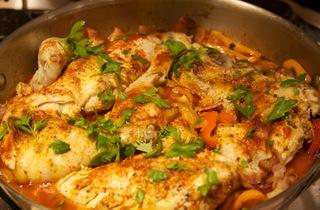 Recipes for basque chicken