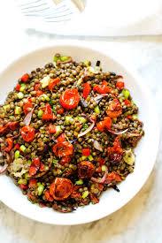 Recipes for lentil salad