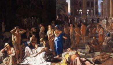 Bildergebnis für Waren die großen Seuchen der Antike bereits biologische Kriegsführung?