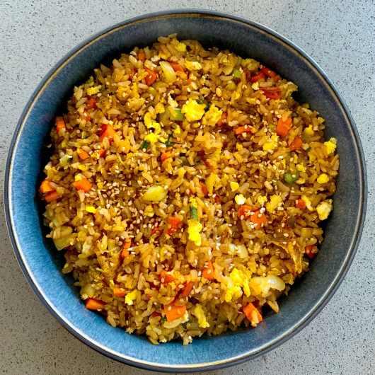 Japanse rijst (yaki meshi)