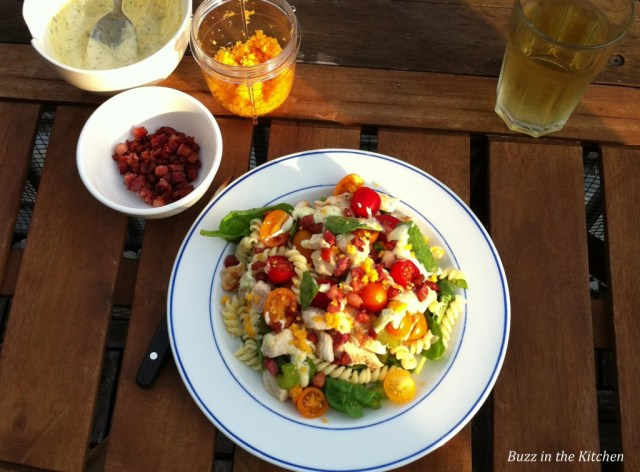Honing Mosterd Kip Salade