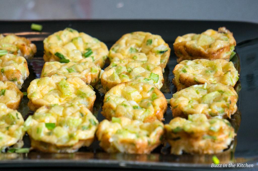 Mini Courgette Frittatas