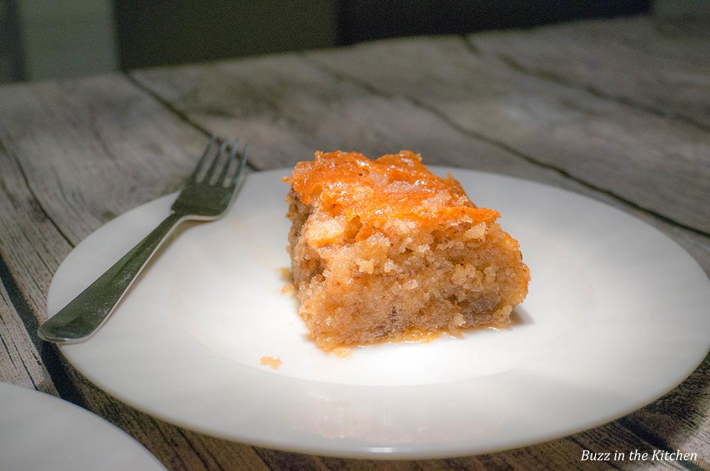 Honing Walnoten Cake
