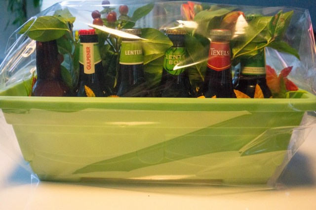 Do It Yourself Gift - Lente Bier Bak