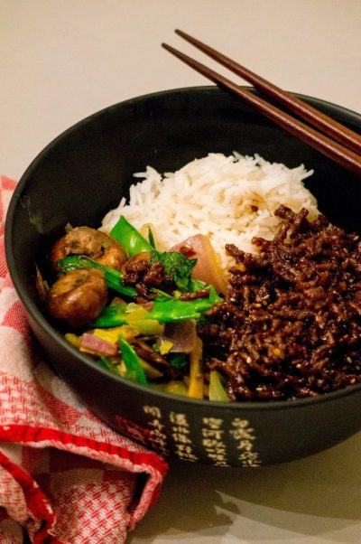 Korean gehaktbowl  | Buzz in the Kitchen