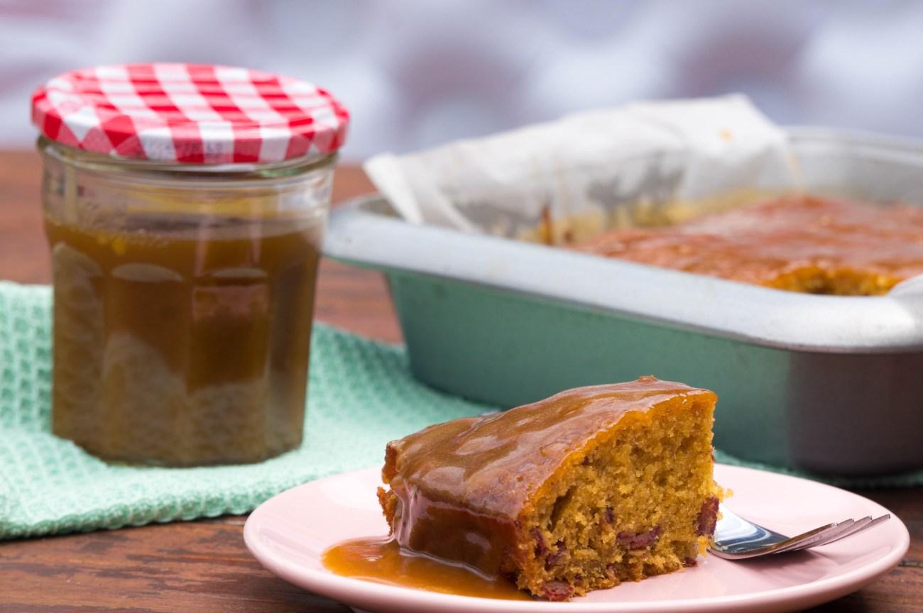 Sticky Toffee Pudding (+ Karamelsaus)