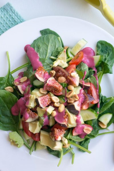 vijgen salade | Buzz in the Kitchen recept
