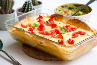 Mexicaanse Lasagna recept   Buzz in the Kitchen