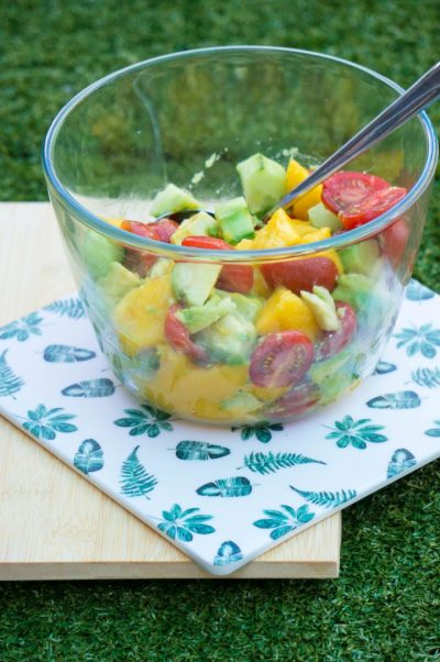 Mango Avocado Salsa| Buzz in the Kitchen