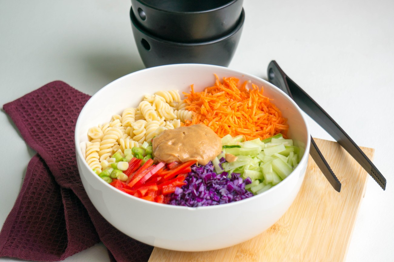 Aziatische Pasta Salade