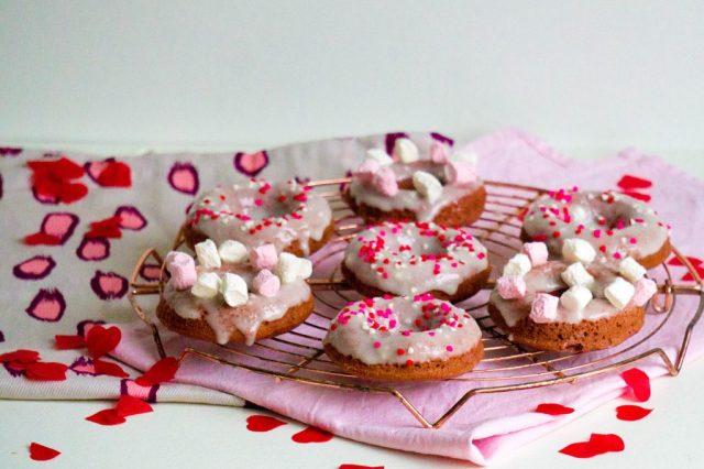 Redvelvet donut - kidshoekje