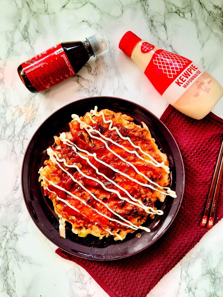 Vegetarische Okinomiyaki - Recepthoekje