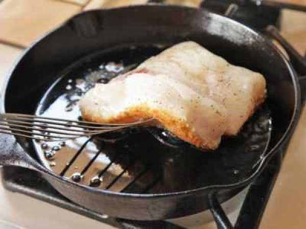 Хрустящая рыба в панировке