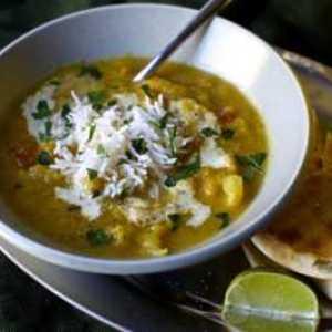 суп цветная капуста с рисом