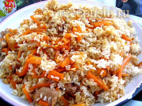 Плов с курицей | Кулинарные рецепты с фото