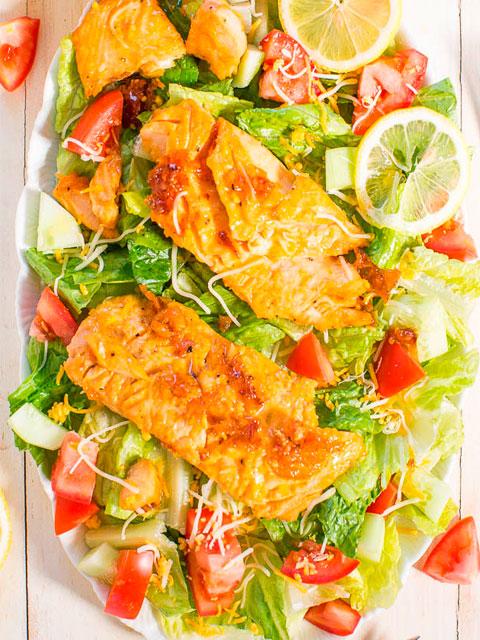 Салат из сёмги