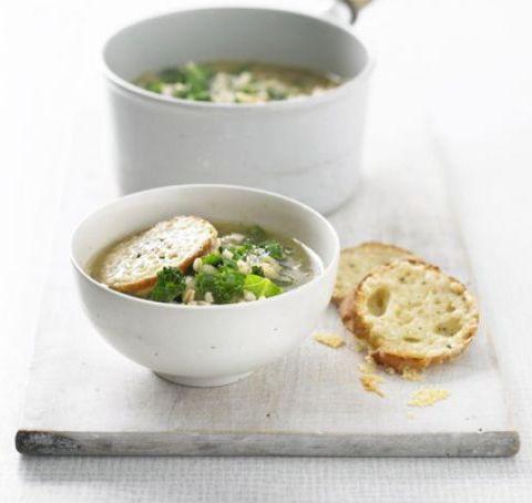 Суп в горшочке